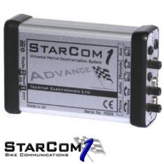 Starcom Advance kit B met 2 x SH-006 voor open- en systeemhelmen-0
