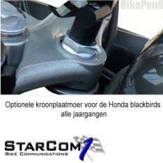 Kroonplaatmoer Honda Blackbird alle jaargangen-0