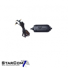 Autocom geisoleerde audiokabel artikel 4004-0