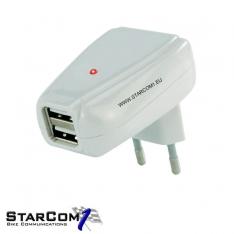 220 volt naar USB dubbele aansluiting-0