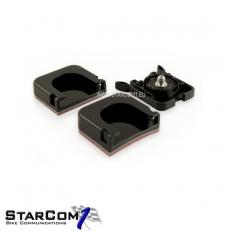 Drift clip+vlakke en gebogen mount-0