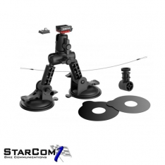 Sena SCA-A0301 Suction cup mount QRM systeem-0