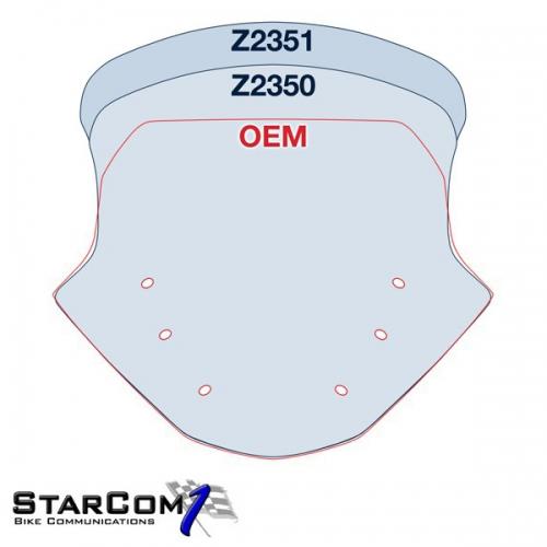 V-Stream Z2350 BMW R1200RT LC vanaf 2014-2103